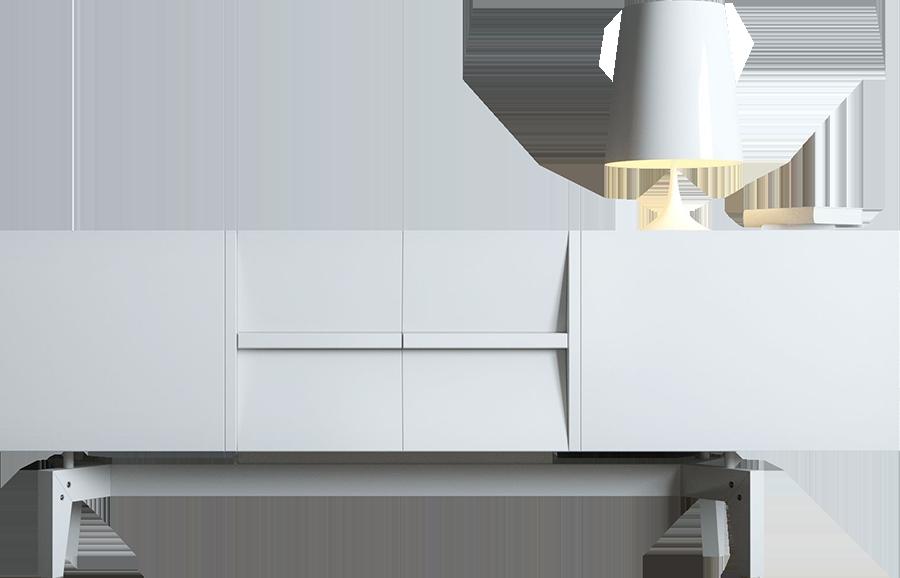 T123: Dekor Material auswählen - kleines Möbelstück